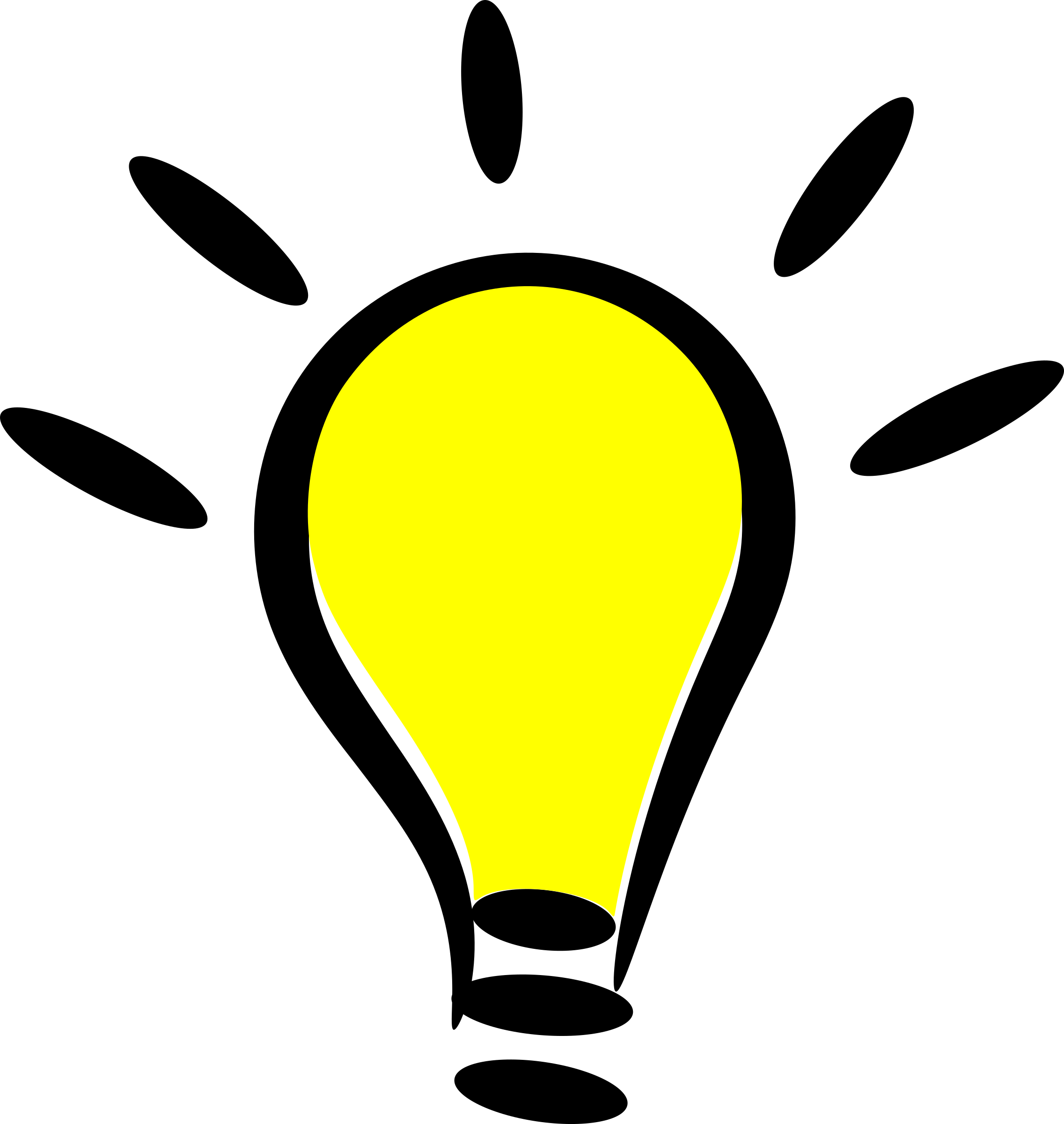 Light Bulb PNG File