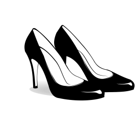 Vector Shoes PNG File