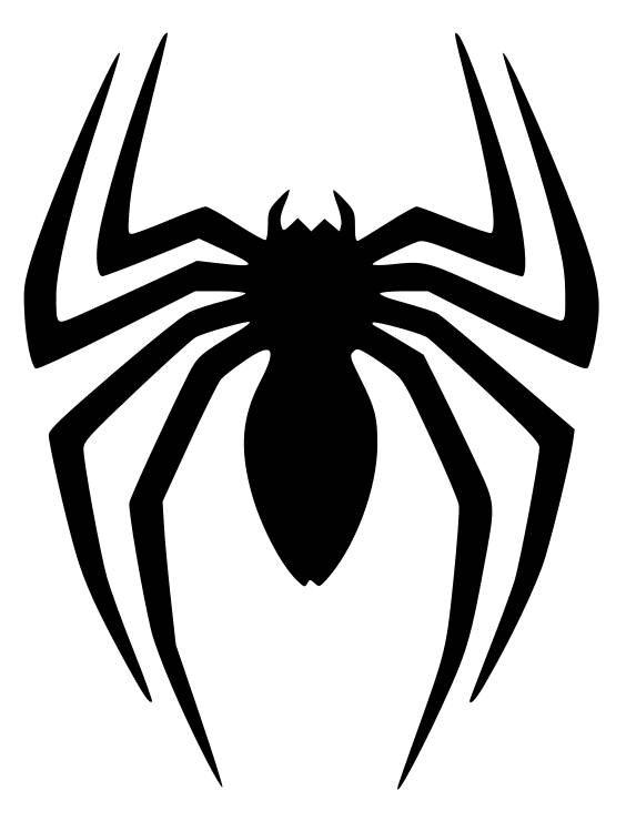 Spider-Man Logo Background PNG