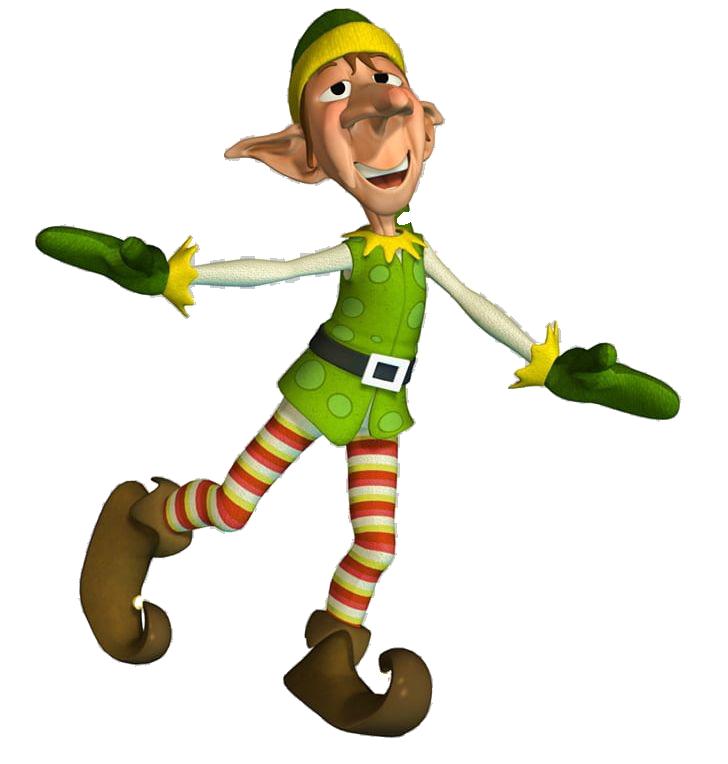 Christmas Elf PNG Photo