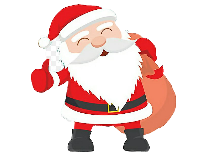 Father Christmas Transparent Background