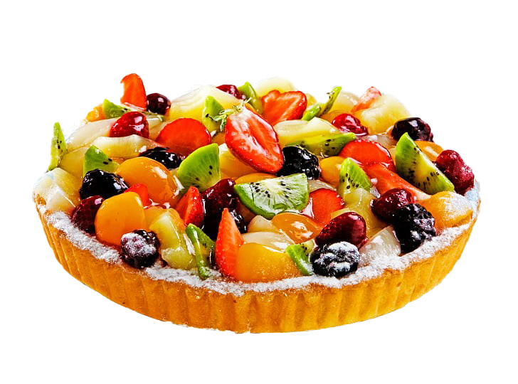 Fruit Cake Background PNG