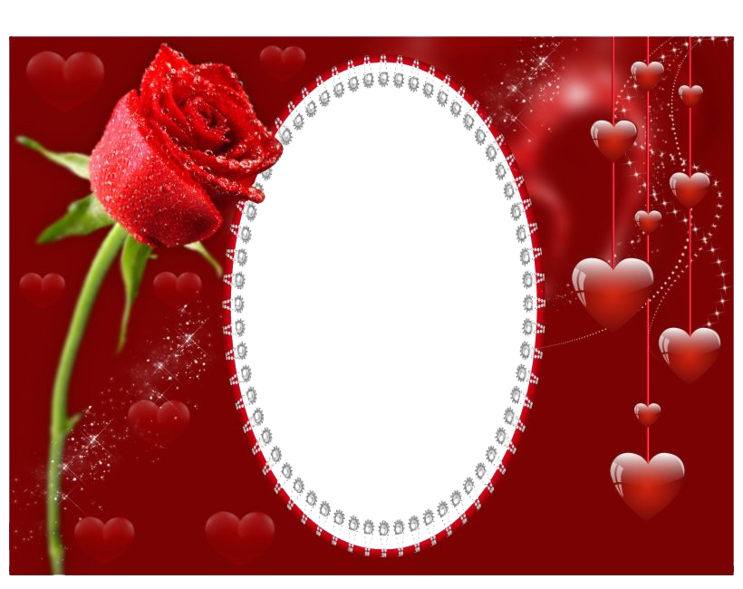 Romantic Frame PNG Clipart