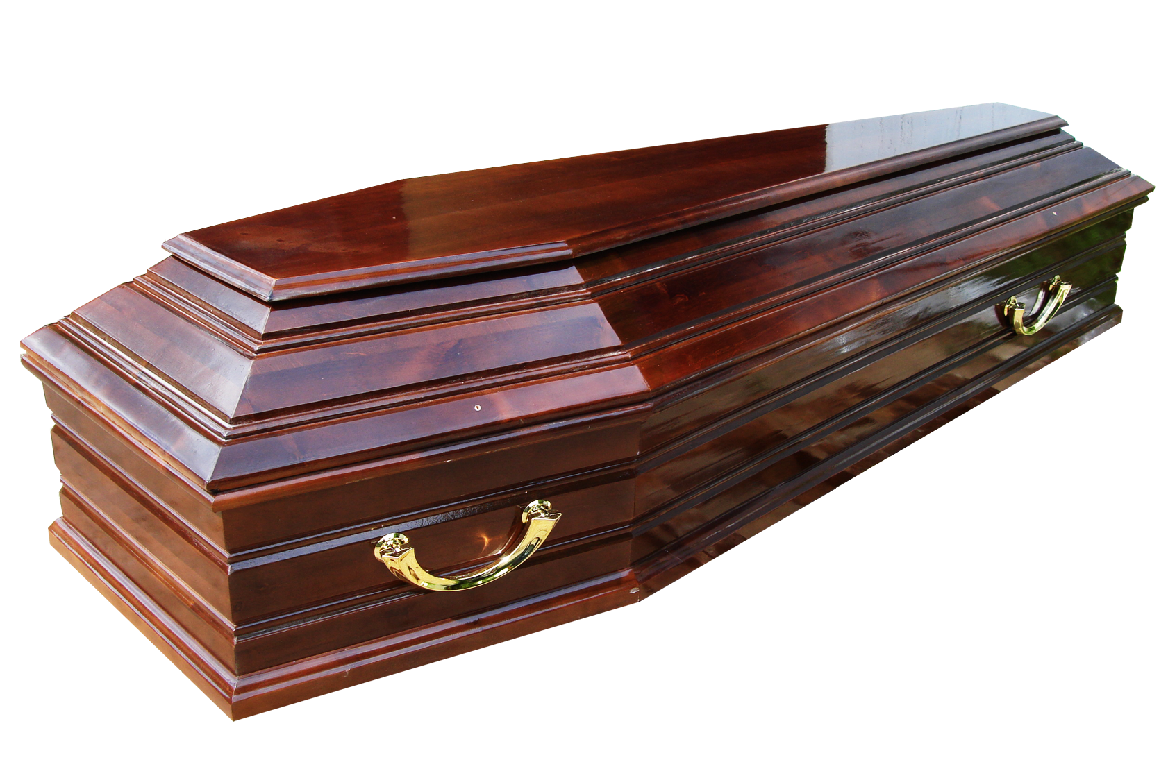 Wooden Coffin Background PNG