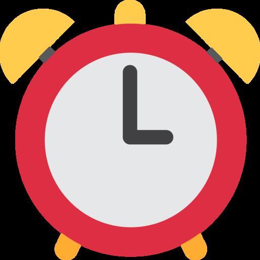 Alarm Emoji PNG Image