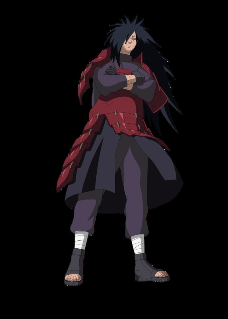 Anime Madara Uchiha PNG Picture