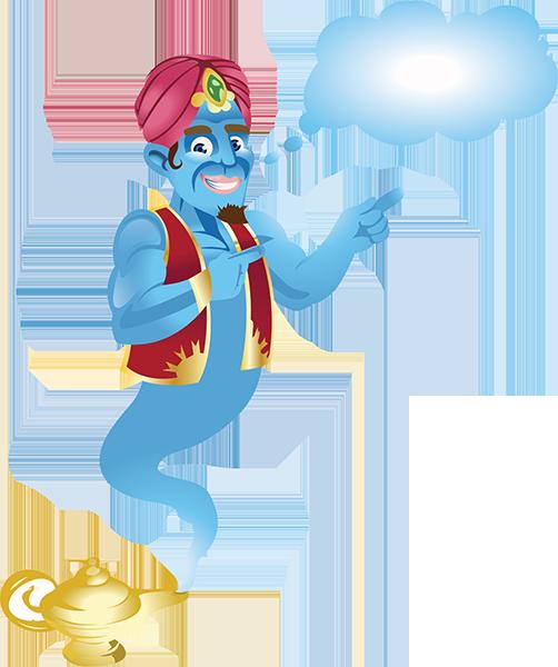 Genie Transparent PNG