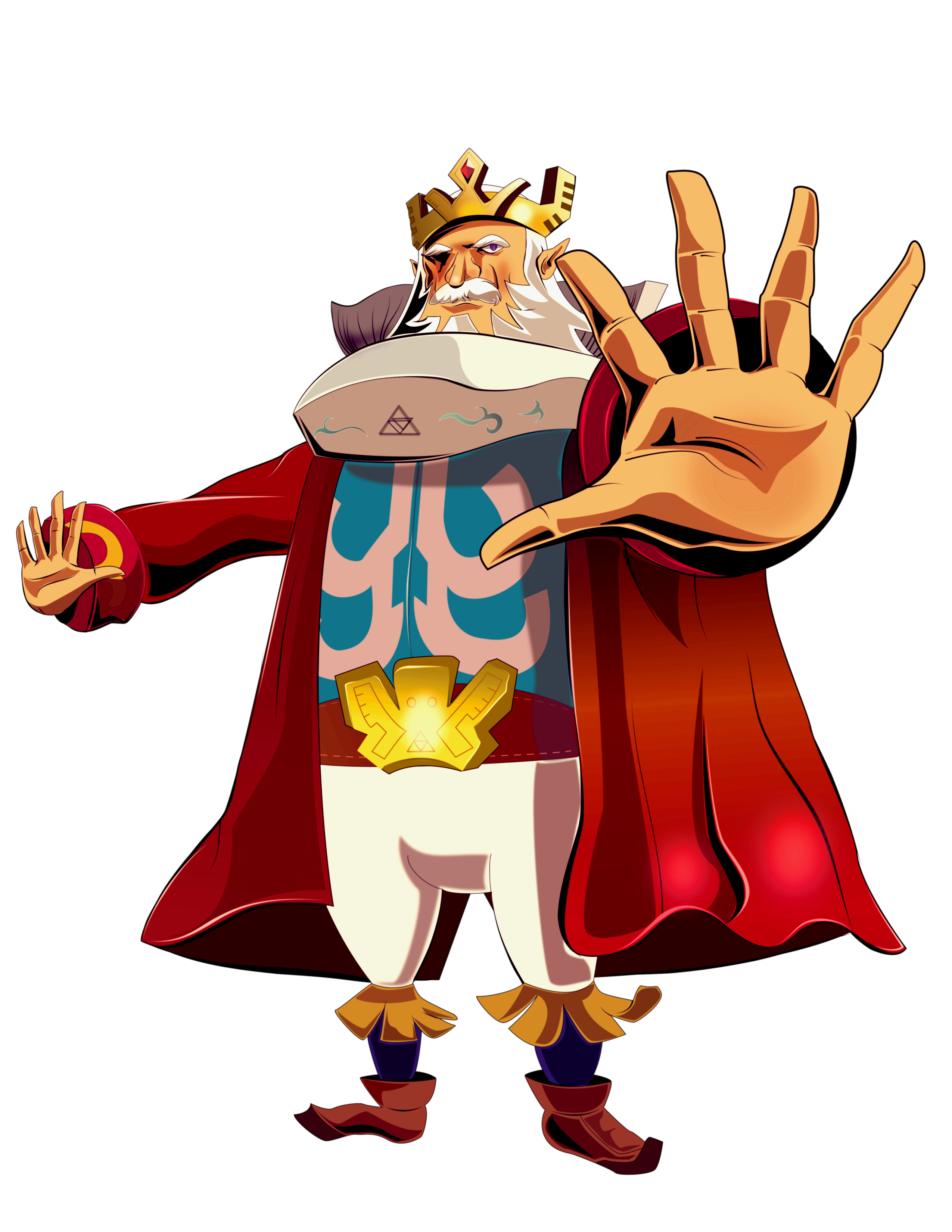 King of Hyrule PNG Image