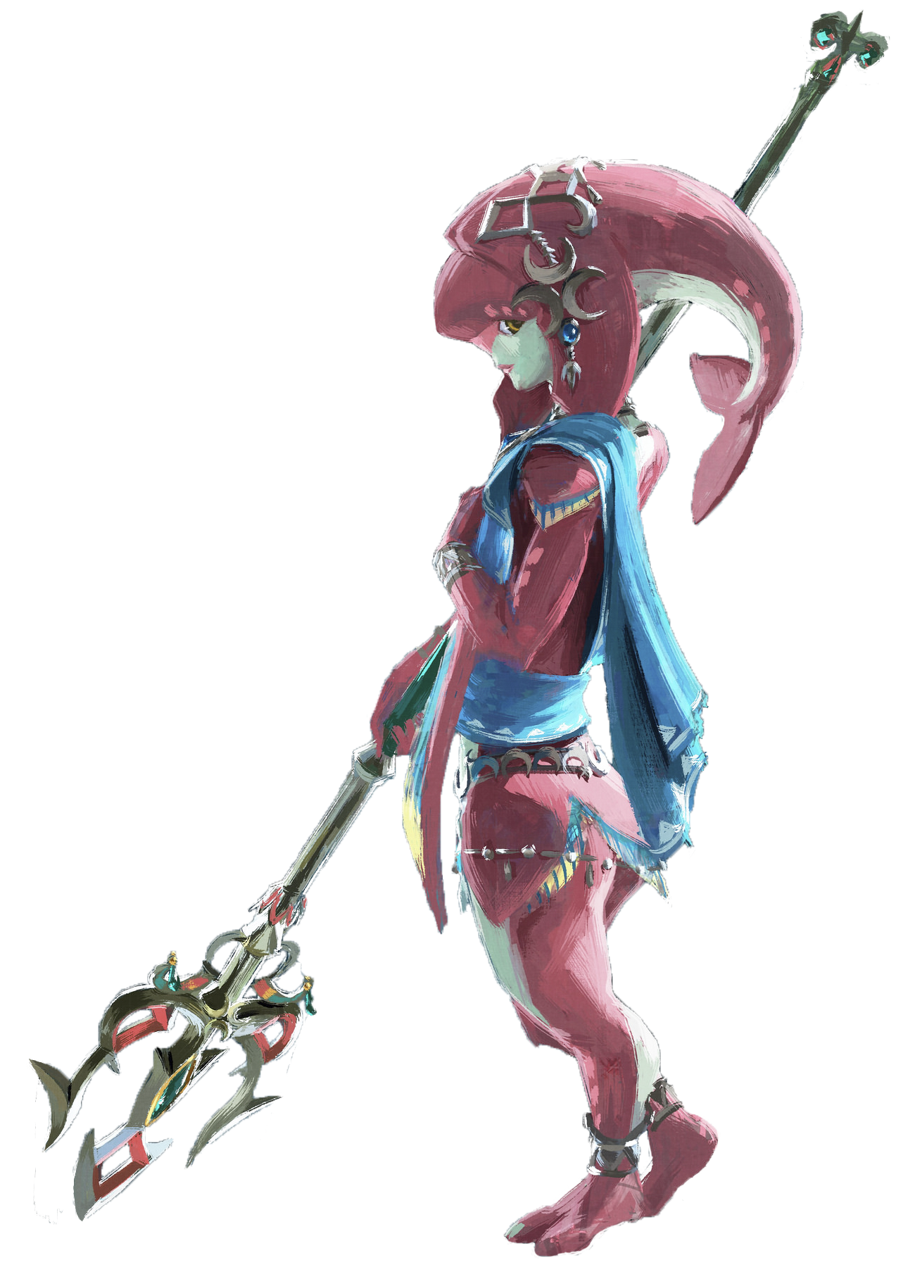 Zelda Mipha PNG Transparent Image