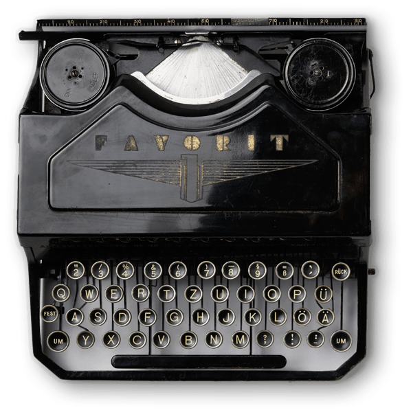 Antique Typewriter PNG Photos