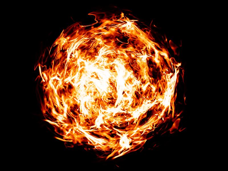 Fireball Effect Transparent PNG