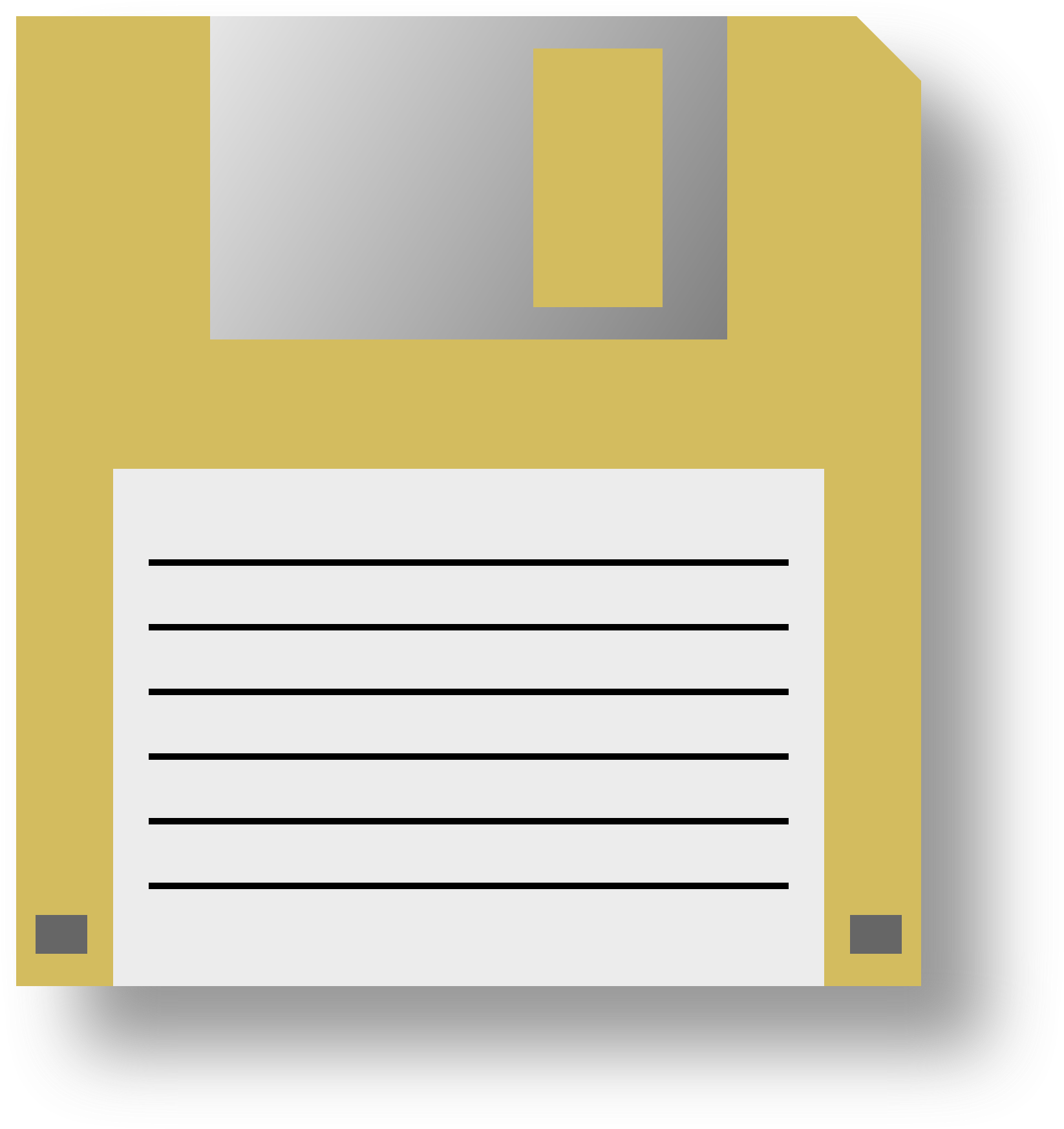 Front Floppy Disk PNG Photos