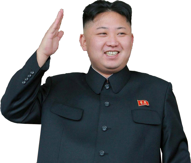Kim Jong-Un PNG HD