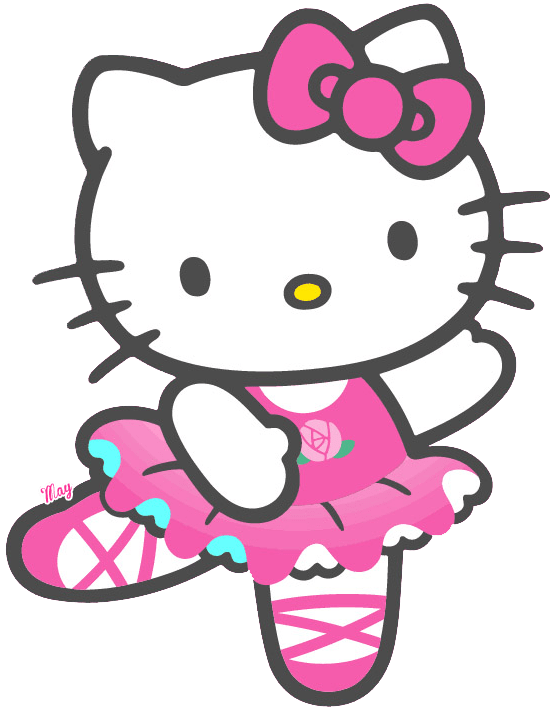 Pink Kitty PNG Clipart