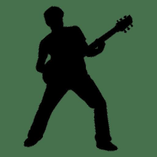 Rock Guitarist PNG Transparent Image