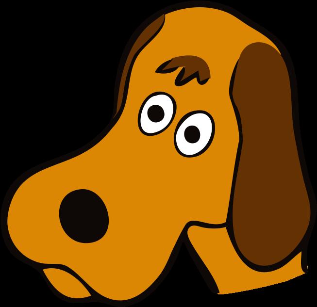 Vector Dog Face Transparent PNG