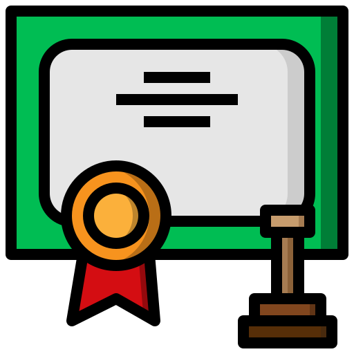 Certificate Qualification PNG File