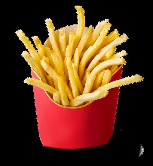 Crunchy Fries Transparent Background