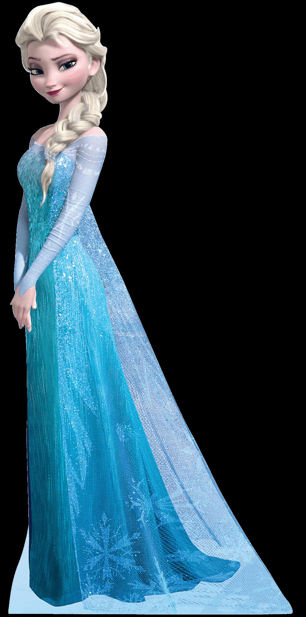 Elsa Frozen PNG Transparent Image