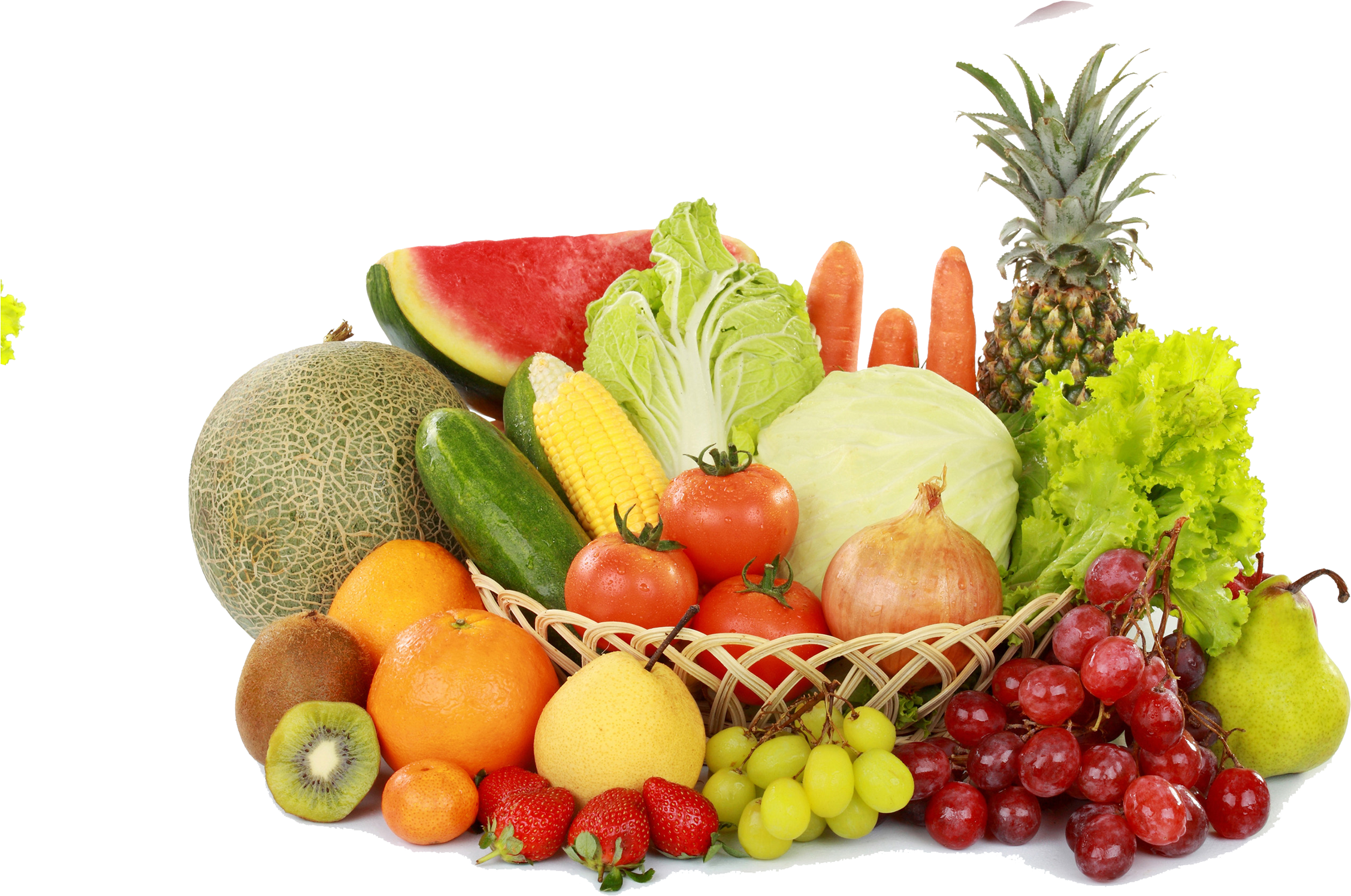 Fruits And Vegetables Transparent Background