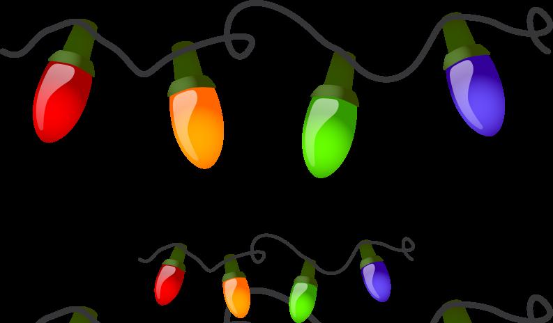 Garland Light PNG Transparent Image