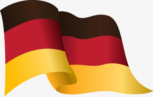 Germany Flag Waving Transparent PNG
