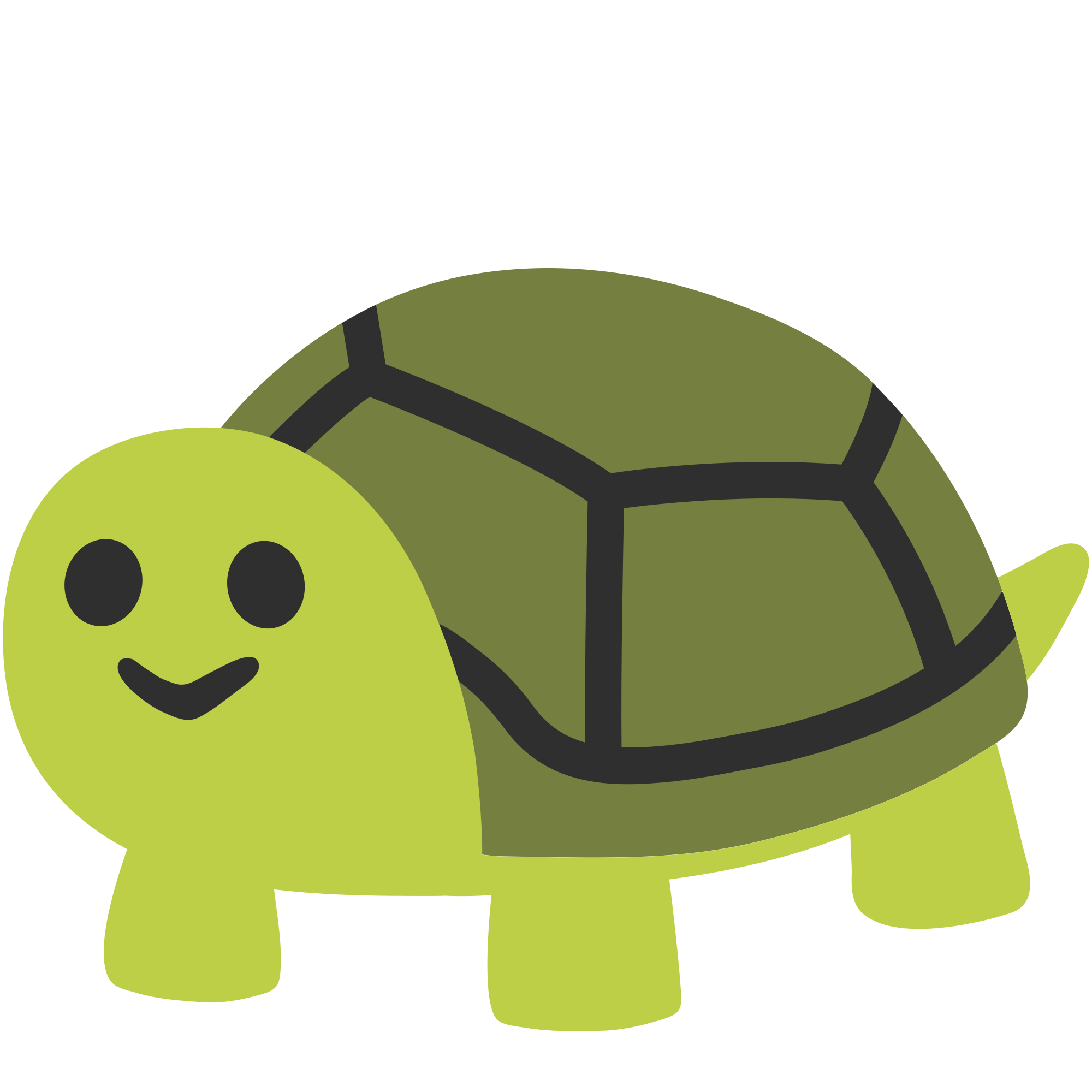 Green Turtle PNG Clipart