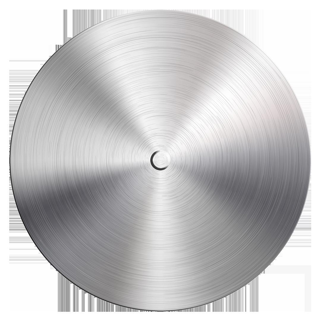 Metal Aluminum Transparent Background