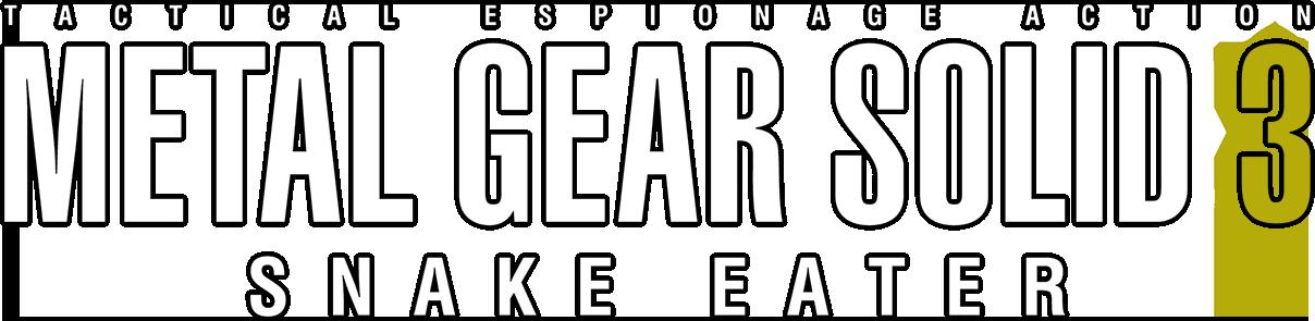 Metal Gear Logo PNG Image