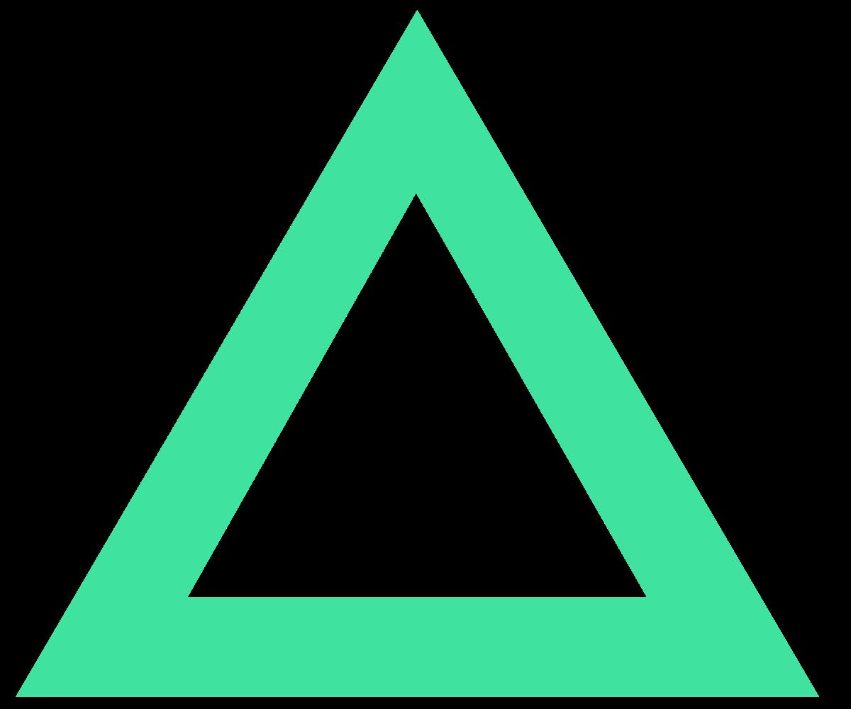 Triangle Shape PNG Image
