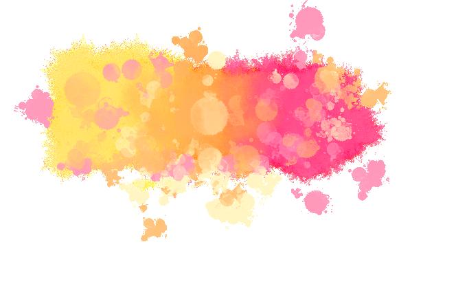Watercolor Blotch PNG File