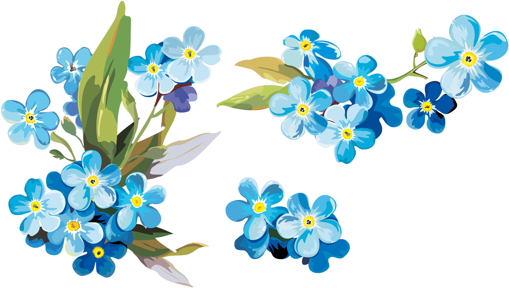 Watercolor Flower PNG Photos