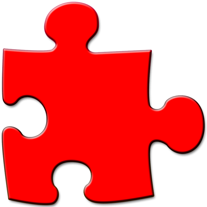 Colored Puzzle PNG Transparent Image