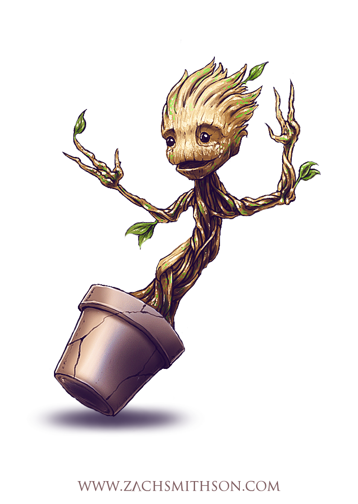 Baby Groot PNG Free Download