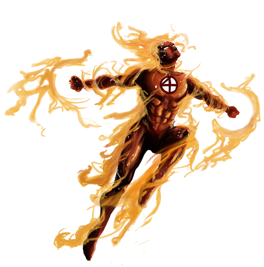Human Torch PNG Photos