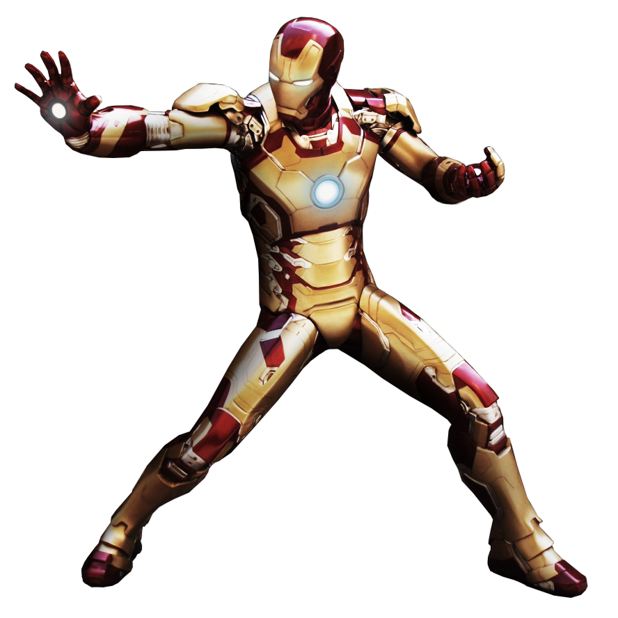 Iron Spiderman PNG Image