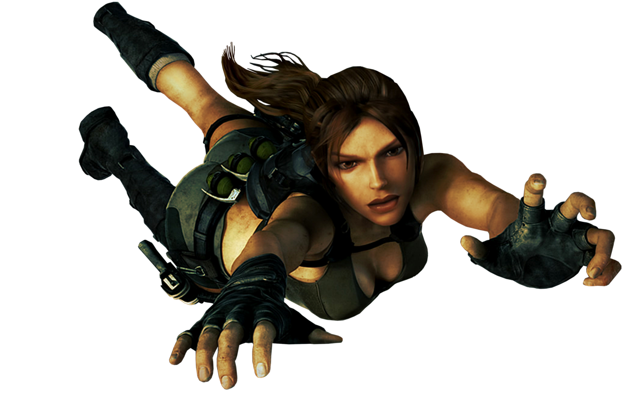 Lara Croft PNG Transparent