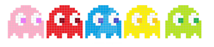 Pac-Man Ghost PNG Photos