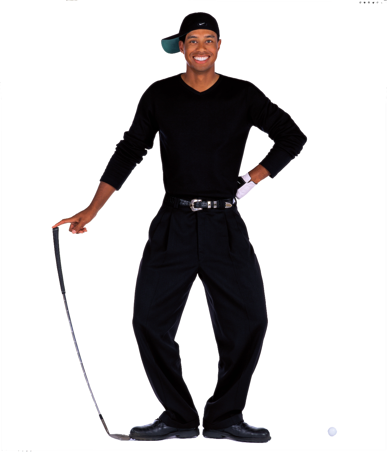 Tiger Woods PNG Transparent Image