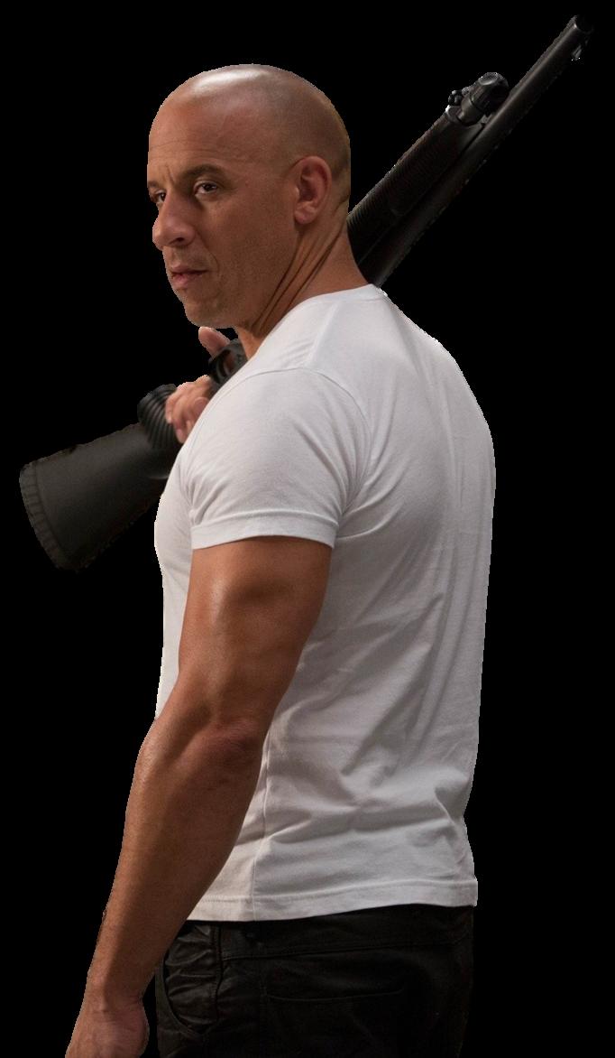 Vin Diesel PNG Image