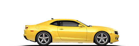 Yellow Camaro PNG File