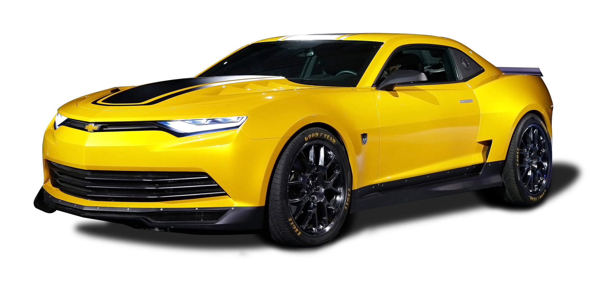 Yellow Camaro PNG Free Download