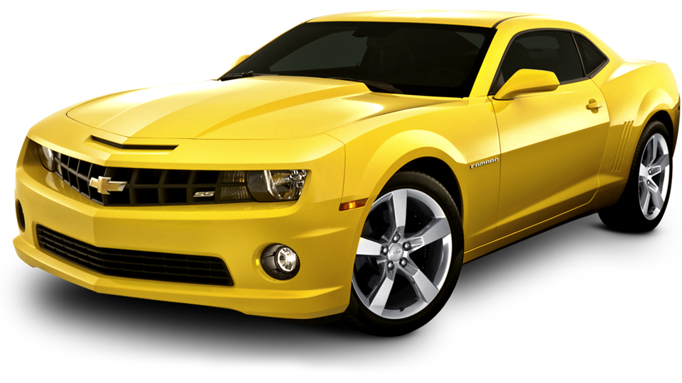Yellow Camaro PNG HD