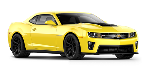 Yellow Camaro PNG Photo