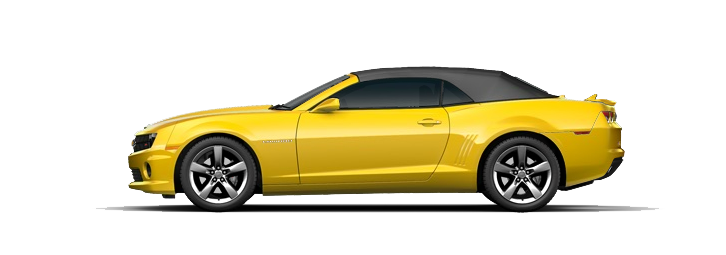 Yellow Camaro PNG Photos
