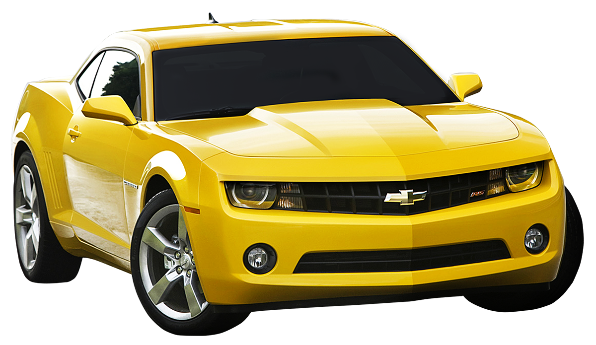 Yellow Camaro Transparent PNG