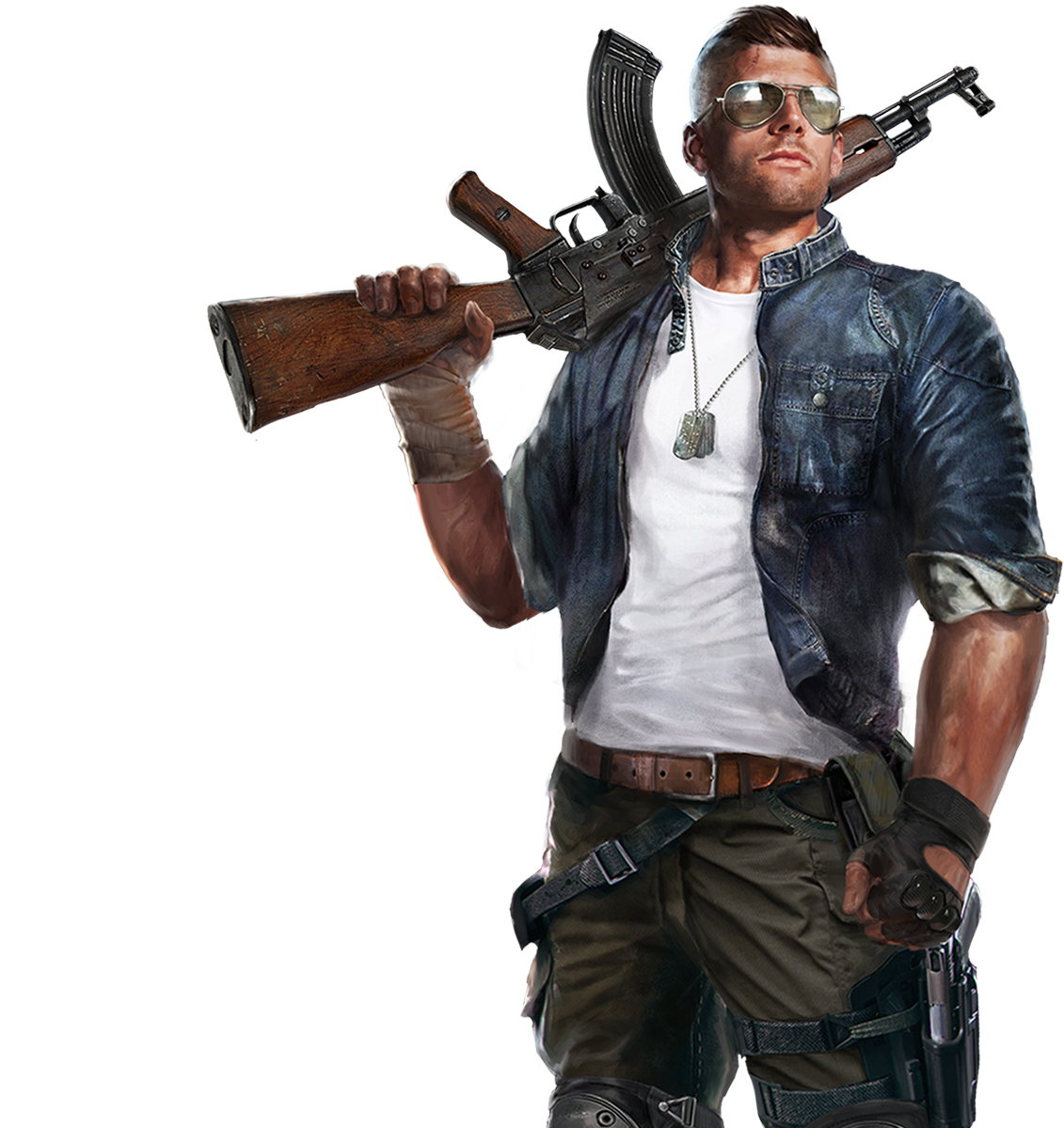 Action Game PNG HD Isolated