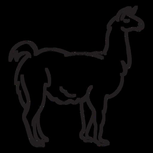 Alpaca PNG File