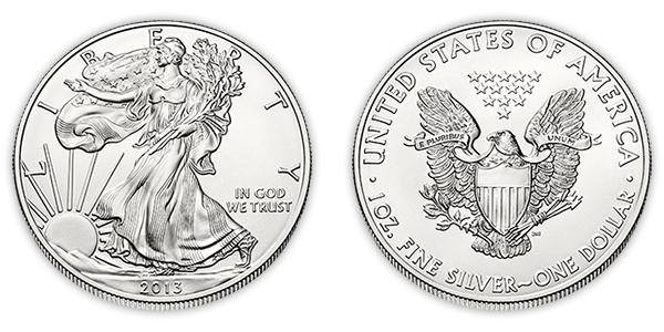 American Silver Coin PNG Pic
