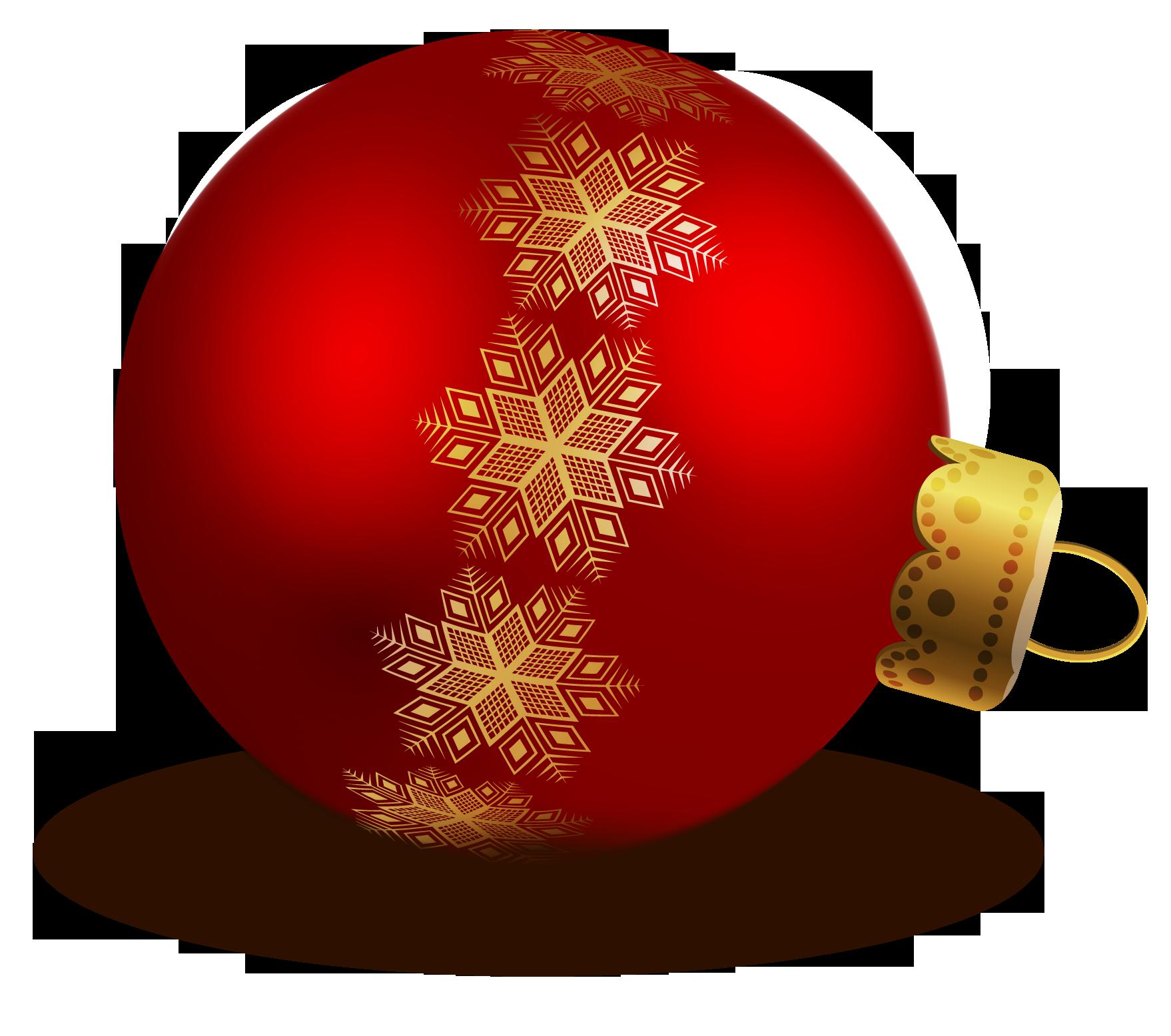 Christmas Balls PNG Image